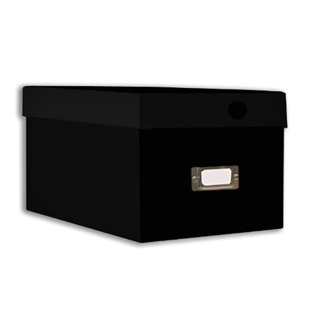 Pioneer Photo CD & DVD Storage Box, Black (Black Photo Box)