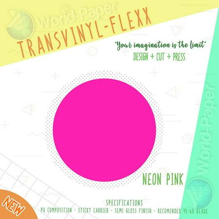 Heat Transfer Htv Iron On Vinyl Roll 12 X 10 Transvinyl Flexx