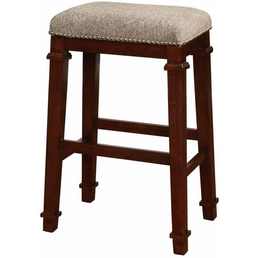 kennedy backless bar stool tweed