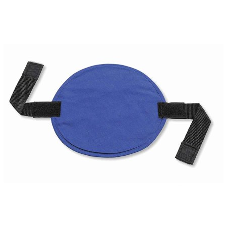 Chill-Its 6715 Evaporative Polymer Cooling Interior Hard Hat Pad, Solid Blue, LONG LASTING INSTANT COOLING RELIEF Can last for up to 4 hours on a.., By Ergodyne