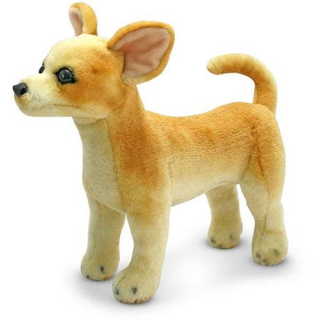 Melissa & Doug Chihuahua Dog - Lifelike Stuffed Animal (Melissa Doug Chihuahua)