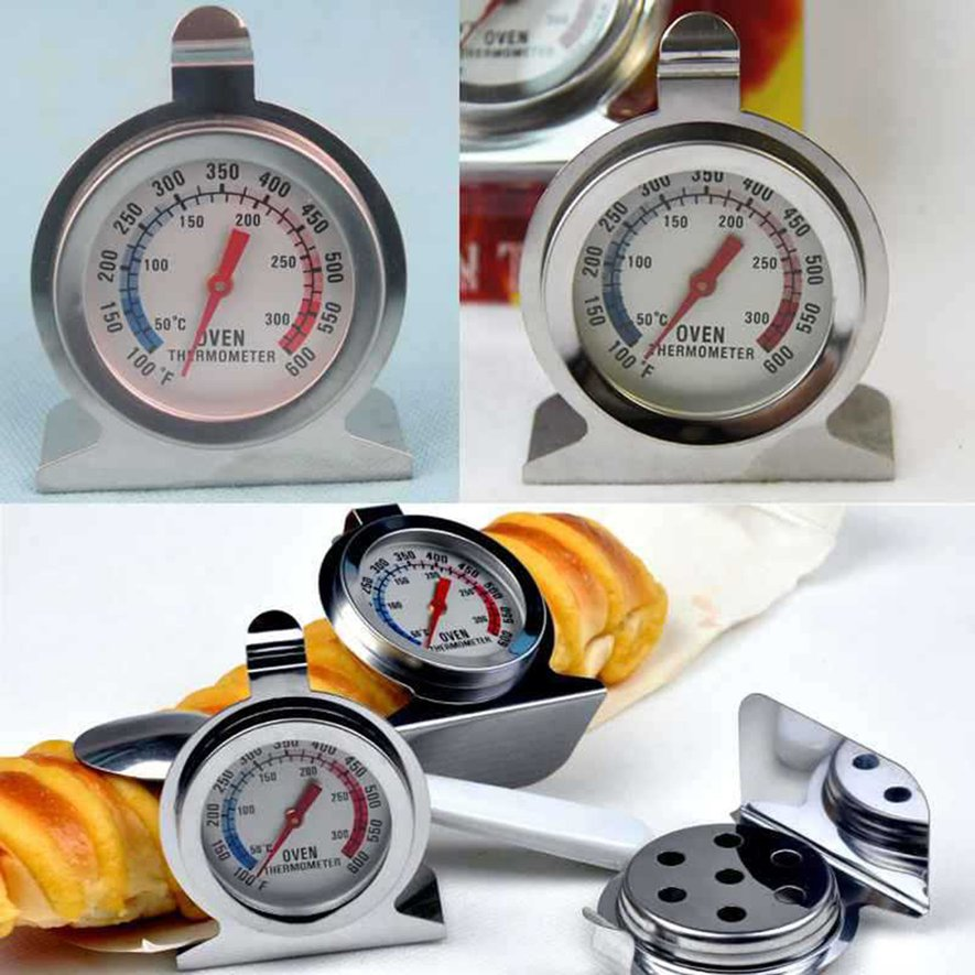 Cooking Food Meat Dial Stainless Steel Oven Thermometer Temperature Gauge by