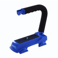 Movo Photo Heavy Duty Super Sturdy Action Stabilizing Video Handle Grip for all Cameras (Blue)