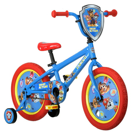 - Nickelodeon 16 inch Paw Patrol All Character Bike