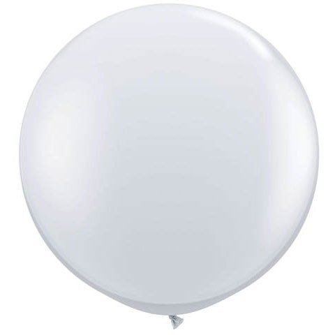 36 Inch Giant Round Crystal Clear Latex Balloons By Tuftex Pkg 3 Walmart Com