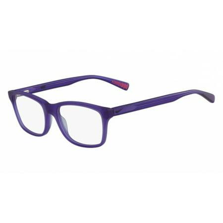 Nike NIKE 5015 Eyeglasses 500 Court Purple Nike NIKE 5015 Eyeglasses 500 Court Purple