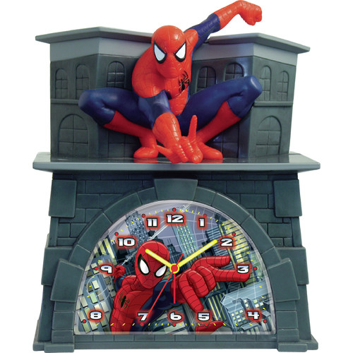 Ashton Sutton Spider-Man Alarm Clock