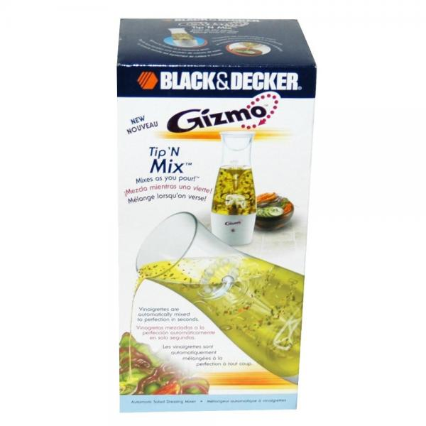 Black & Decker Gizmo White Tip N Mix Dressing Mixer by