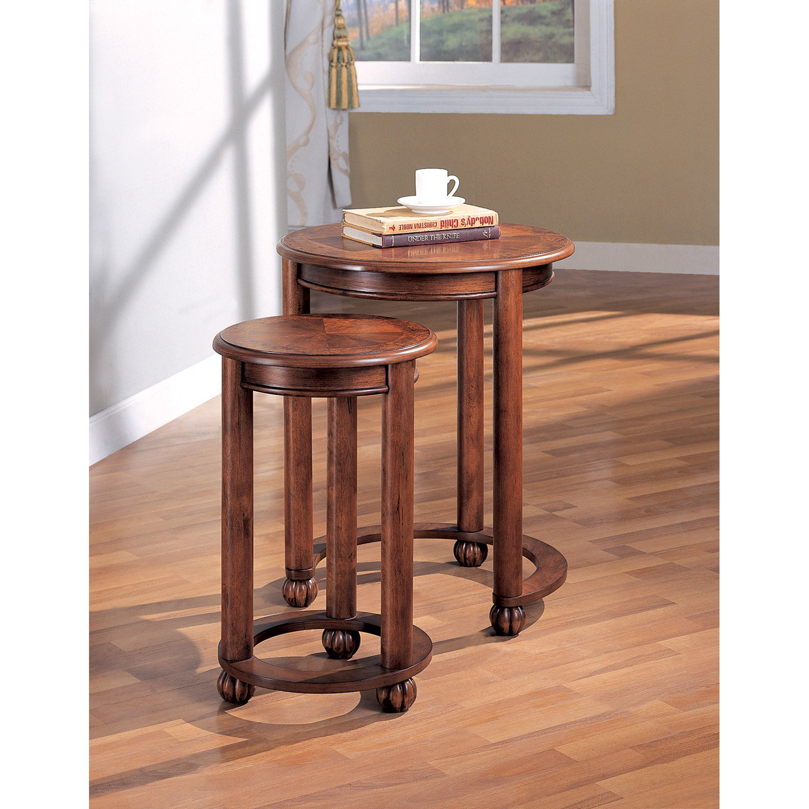 Coaster Furniture Warm Amber Nesting Table