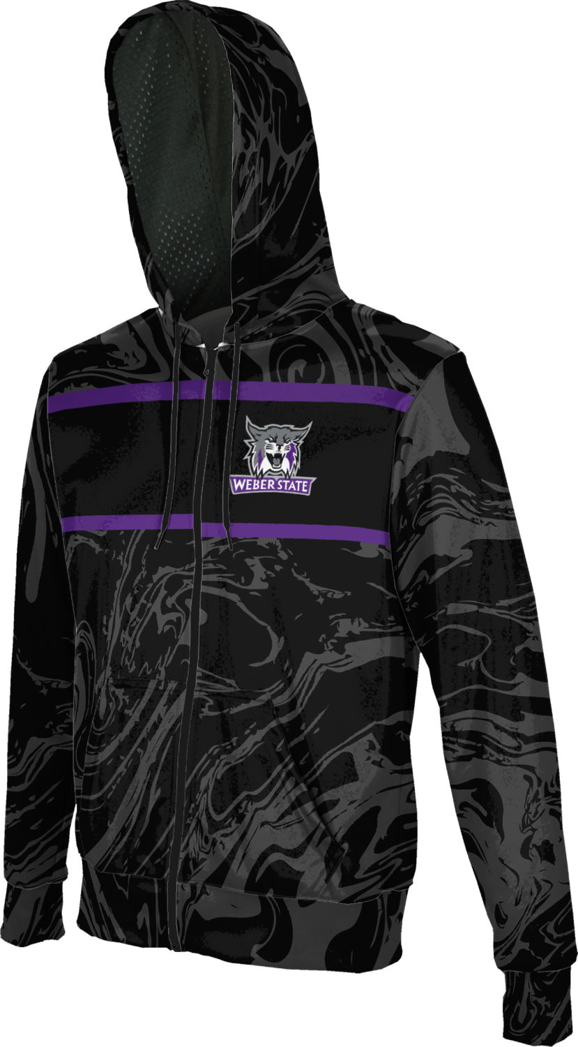 ProSphere Weber State University Boys Fullzip Hoodie Game Time