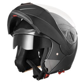 03975ca3 AHR Motorcycle Helmet Flip up Full Face Modular Dual Visor DOT Approved  Motocross Color/Size Opt