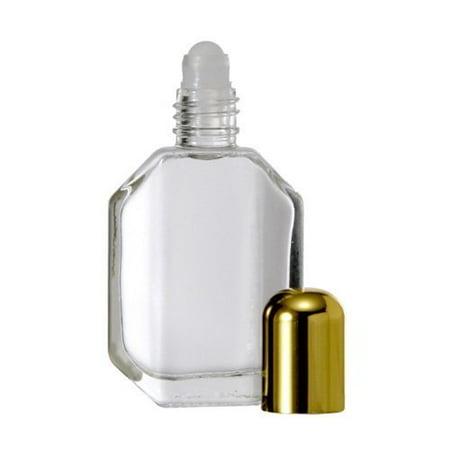 Egyptian Musk Perfume Oil -- 1 oz Cobalt Blue Bottle Musk 1 Oz Dry Oil