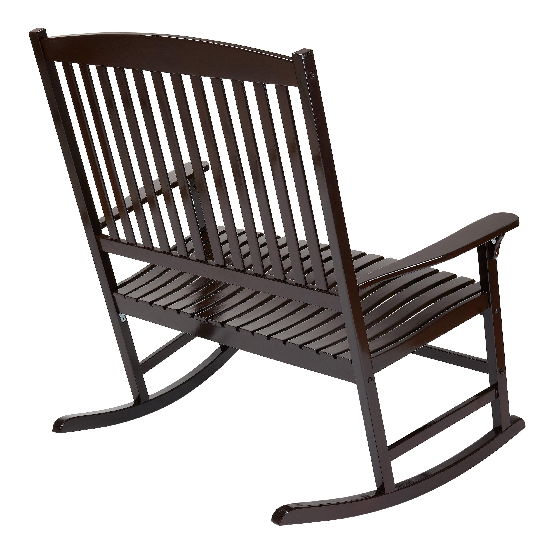 Tremendous Mainstays Outdoor 2 Person Double Rocking Chair Walmart Com Short Links Chair Design For Home Short Linksinfo