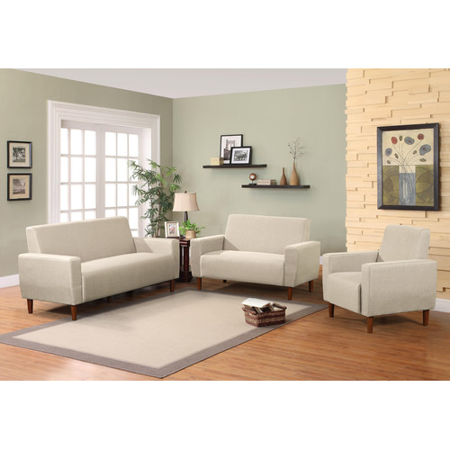 Container Mid 3 Piece Living Room Set