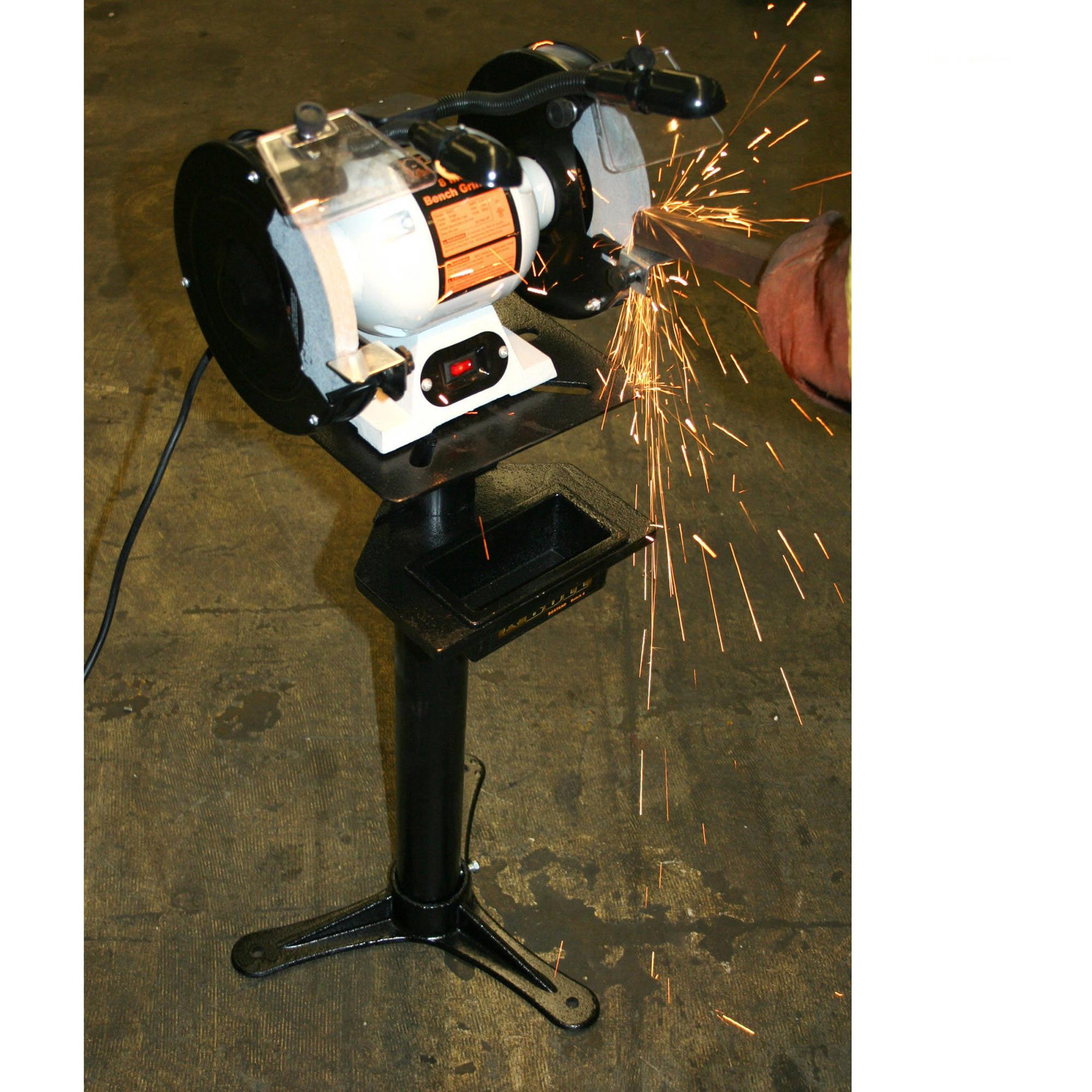 Excellent Black Bull 8 Bench Grinder With Lights Spiritservingveterans Wood Chair Design Ideas Spiritservingveteransorg