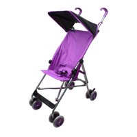 Wonder Buggy Parker Umbrella Stroller With Canopy - Solid Purple