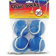 The Pencil Grip TPG233 Chair Socks, Blue - Pack of 4