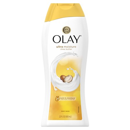 Olay Ultra Moisture Shea Butter Body Wash, 22 oz Aloe Butter Body Wash