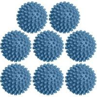 Dryer Balls 8 Pack - 3 Inch, Non-Toxic Reusable Dryer Balls