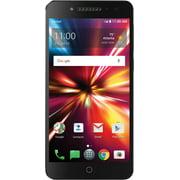 Cricket Wireless Alcatel Pulsemix 16GB Prepaid Smartphone, Black with POWER SNAPBAK
