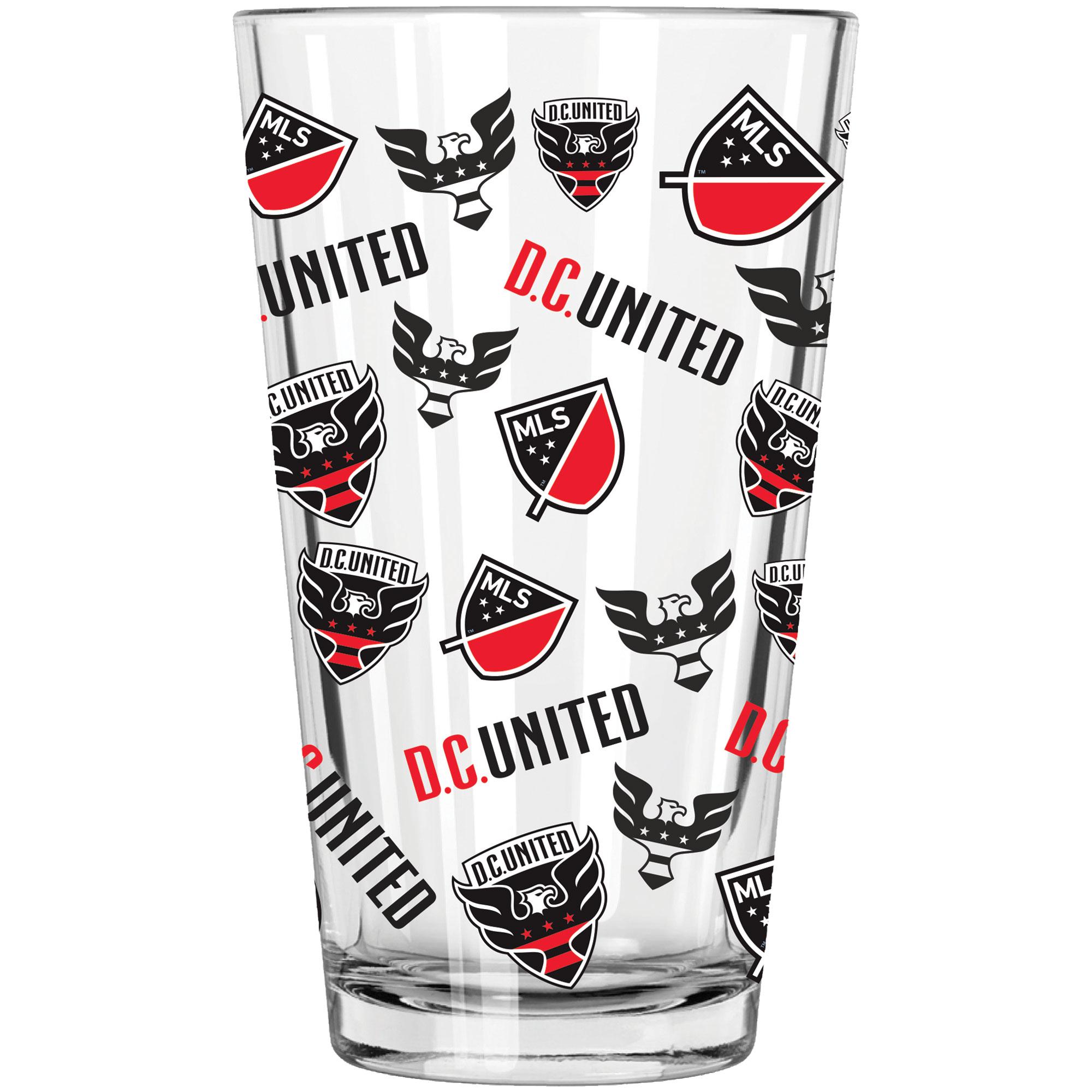 D.C. United 16oz. Full Wrap Pint Glass - No Size