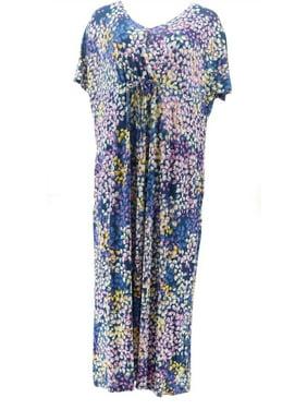 Carole Hochman Petite Hydrangea Lounge Dress Women's A346805