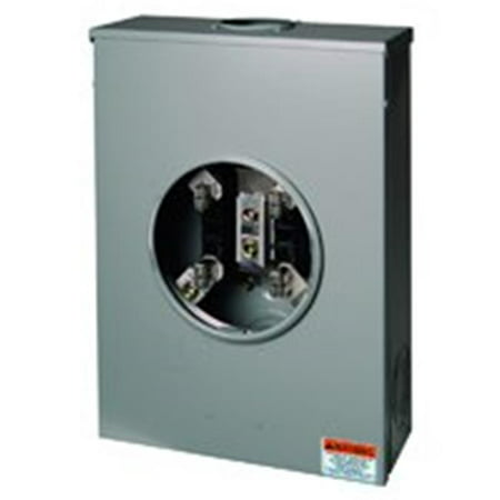 Square D By Schneider Electric URTRS213B Indiv Meter Socket Ringed 200A - image 1 of 1