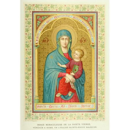1900 Halloween Traditions (La Sainte Vierge dans la tradition dans lart 1900 Stretched Canvas - Unknown (18 x)