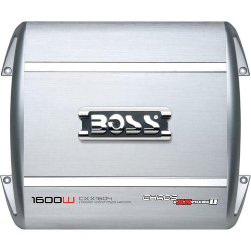 Boss CXX1604 Chaos 1600W 4-Channel Power Amplifier