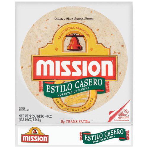 Mission Estilo Casero Flour Tortillas, 24 ct