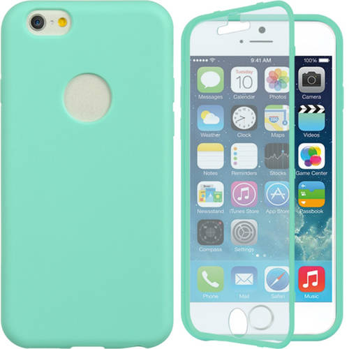 Mundaze Apple iPhone 6 Wrap-Up Case with Screen Protector Phone Case, Teal Mint