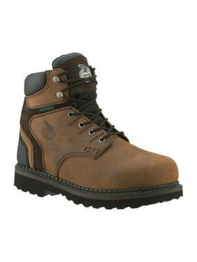 "Men's Georgia Boot G7134 6"" Brookville WP Work Shoe"
