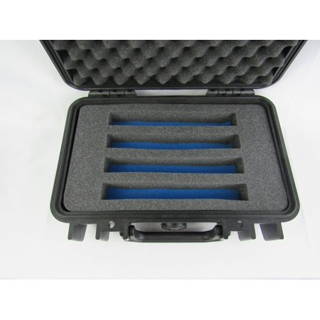 Blue Insert (Pelican Case 1170 with Custom Insert for 4 Vape Mods with Blue)