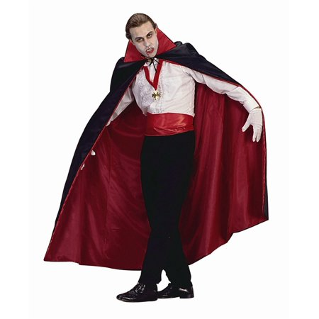 Full Length Reverse Cape - Quick Halloween Costume Ideas For Work
