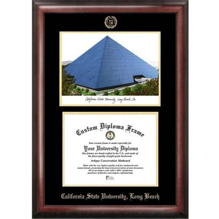 Cal State Long Beach 8 5 Quot X 11 Quot Gold Embossed Diploma