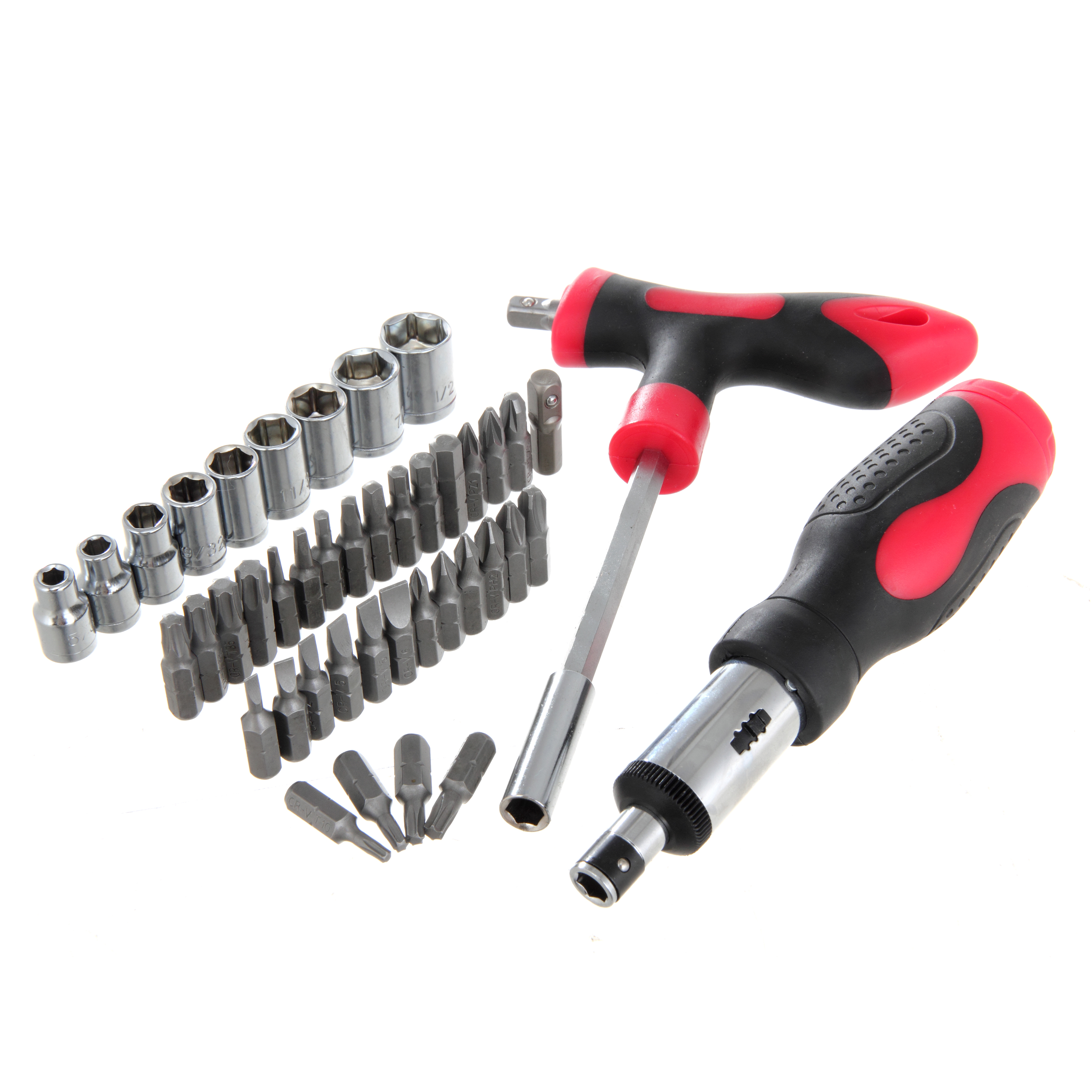 Hyper Tough TS99815R 43-Piece Socket Screwdriver Set with Case