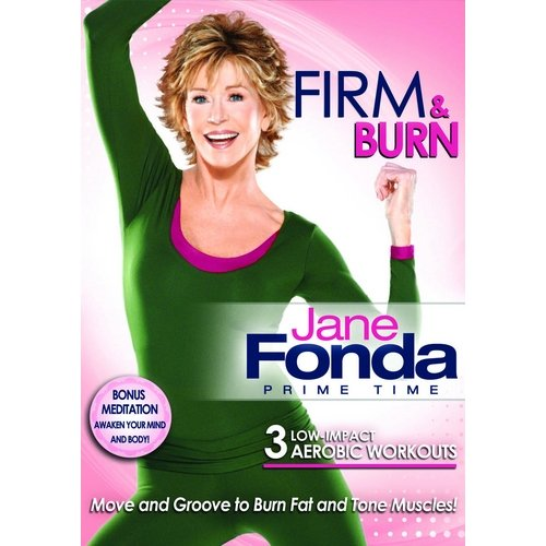 Jane Fonda Prime Time: Firm And Burn Low-Impact Cardio (Full Frame)