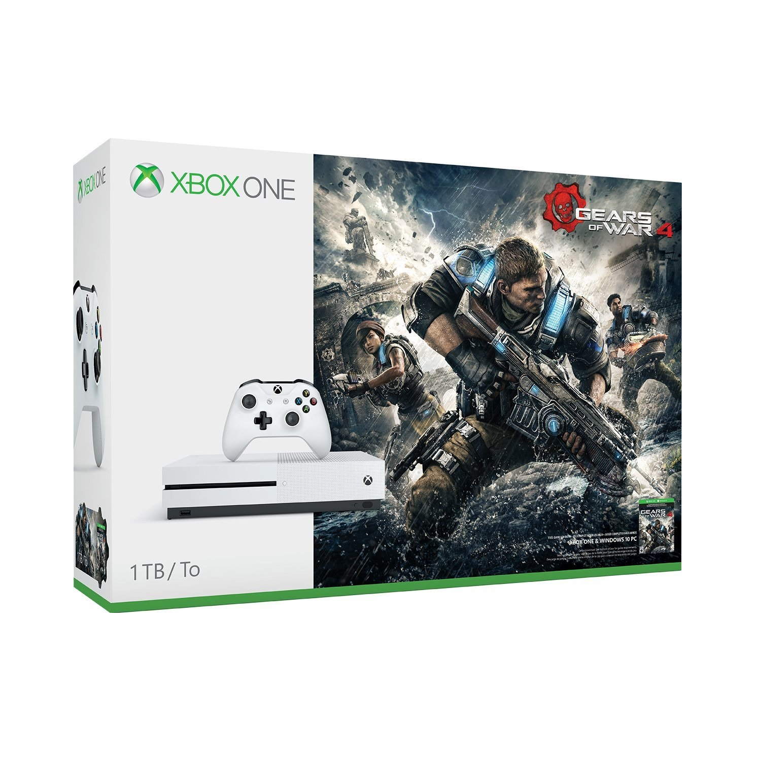 Xbox One S Gears of War 4 1 TB Bundle