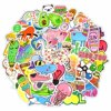 AkoaDa 50Pcs Cute Vsco Girl Stickers Pink Pig Turtle Graffiti Label Waterproof Durable Vinyl for Laptop Phone Water Bottle Stickers 50Pcs Cute Vsco Girl Stickers Pink Pig Turtle Graffiti Label Waterproof Durable Vinyl for Laptop Phone Water Bottle Stickers