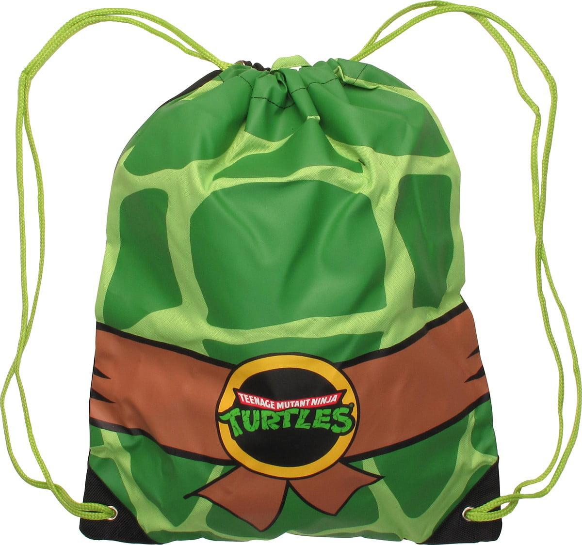 Teenage Mutant Ninja Turtles Green Drawstring Backpack