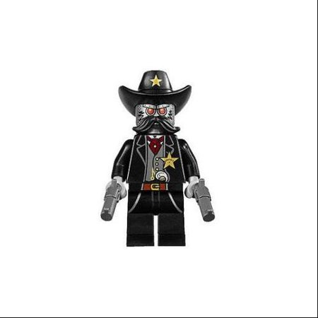 The LEGO Movie Loose Sheriff Not-a-Robot Minifigure