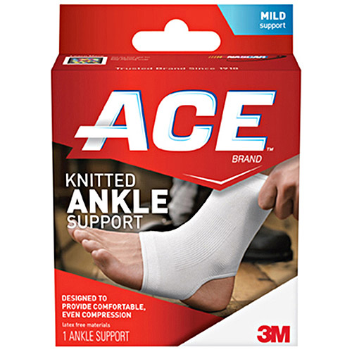 ACE Knitted Ankle Support, M, 207301
