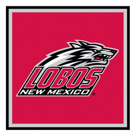 New Mexico Lobos Paper Cube