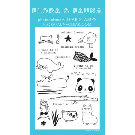 Animals Clear Stamps - Flora & Fauna Clear Stamps 4