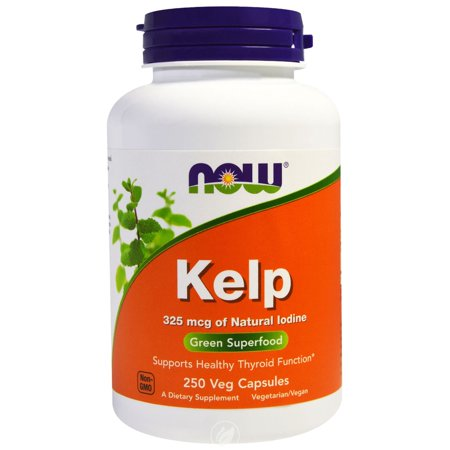 Now Foods, Kelp Caps, Green Superfood, 250 Vcaps , Pack of 2