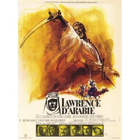 Lawrence of Arabia Movie Poster (11 x 17) - Arabian Adult Movies