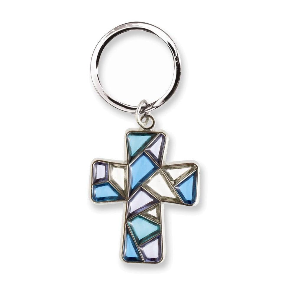 Blue Sun Catcher Key Ring by