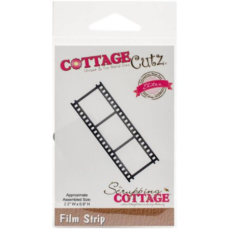 """CottageCutz Elites Die, Film Strip, .9"""" x 2.2"""""""