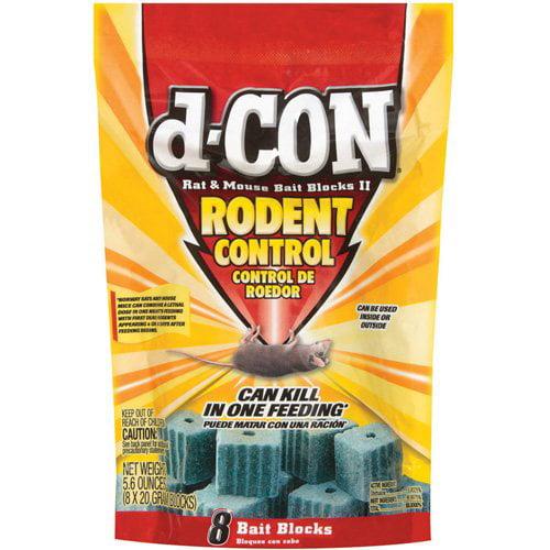D-Con Rat & Mouse Baits, 8 ct