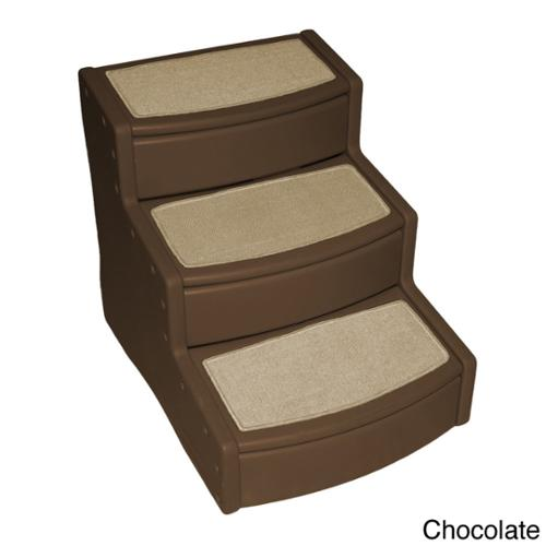 Pet Gear  Chocolate Extra Wide Easy Step III Pet Stair
